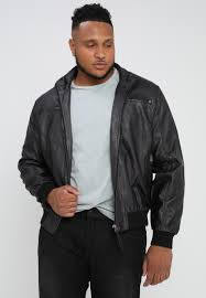 indicode jeans truman plus faux leather jacket black 100 polyethylene ij022t00y q11 nmquawh