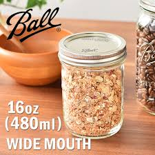 ball 16 oz mason jars. ball ball widemouth 16 ounce [ball corporation may sonja \u2014 save bottle storage containers glass oz mason jars