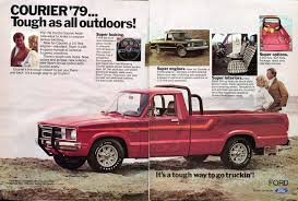 1979 Ford Courier Pickup Truck Advertisement Hot Rod December 1978 ...