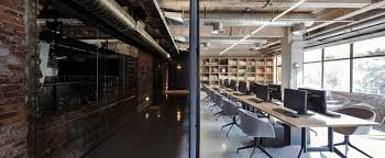 industrial office flooring. Office Industrial. Industrial Features Exposed Bricks \\u0026 Concrete Ceilings 1 Flooring O
