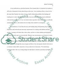 early childhood academic article for rattler assignment  text preview