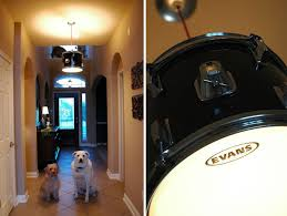 drum kit light diy