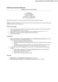 resume bank job