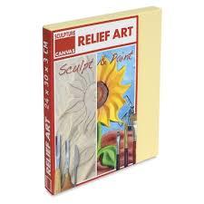 sculpture canvas relief art