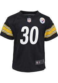 James Conner Outer Stuff Pittsburgh Steelers Boys Black Gameday Jersey Football Jersey 133400565