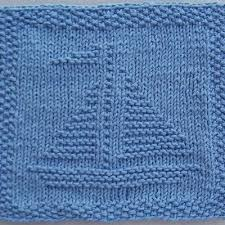 Free Knitting Patterns For Dishcloths Awesome Elegant Free Knitted Dishcloth Patterns Designs Sailboat Knit