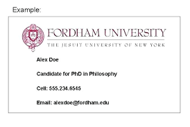 Graduate Student Business Cards Template Awesome Card Phd