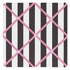 Amazon Com Sweet Jojo Designs Pink Black And White Stripe Paris