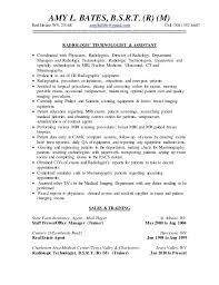 Resume Template Entry Level Fascinating Sample Radiologic Technologist Resume Wwwfreewareupdater