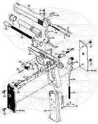 mustang accessories numrich gun parts mustang schematic image