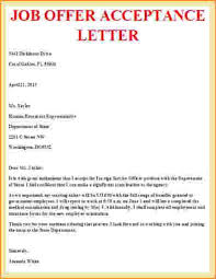 Email Accepting Job Offer Amazing Job Offer Acceptance Letter Example Sujets 48as Pinterest