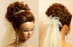 Hair Style For Medium Hair bridal hairstyle for long medium hair tutorial romantic wedding 1095 by wearticles.com