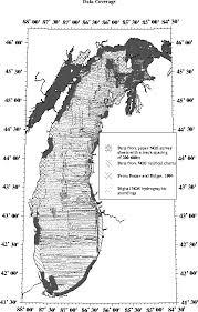 Bathymetry Of Lake Michigan