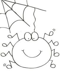 Small Picture Sweet Animal Spider Coloring Page Cute Spider Pinterest