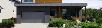 model 9100 steel garage door contemporary custom paint