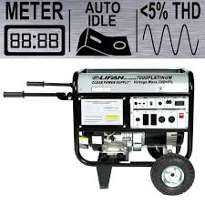 lifan platinum series 7 000 watt 389cc gasoline powered low thd platinum series 7 000 watt 389cc gasoline powered low thd portable generator