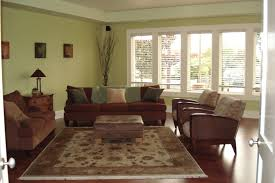 wall paint for brown furniture. Relaxing Paint Color Match Ides Present Green Wall And White Window Frame Plus Brown Couch Feat Oriental Area Rug For Furniture