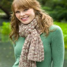 Ribbed Scarf Pattern Enchanting Ribbed Scarf Red Heart