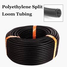 100 ft 5 16 flexible bellows hose corrugated conduit cable split 100 ft 5 16 flexible bellows hose corrugated conduit cable split wire loom polyethylene