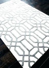 black white geometric rug and colours runner uk