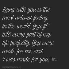 You Complete Me Quotes Classy Love Quotes For Him For Her You Were Made For Me And I Was Made