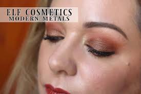 elf modern metals makeup collection review swatches tutorial swatch pics you photos