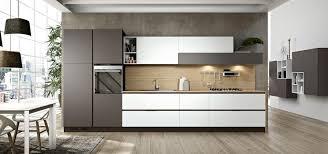 Cucina componibile moderna senza maniglia linea plana arredo3