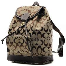 Best Style Coach Classic In Signature Medium Khaki Backpacks Cbk Outlet  ZkhVA