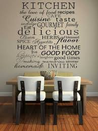 Diy Kitchen Wall Decor Easy Diy Kitchen Wall Decor Ideas Black Saddle Barstools And