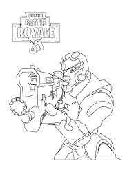 Free Printable Fortnite Coloring Pages Soldier Coloring Pages In