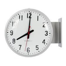 double sided school clocks
