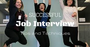 How To Be Successful In A Job Interview Successful Job Interview 24 Best Tips And Techniques Wisestep