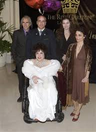 elizabeth taylor children.  Elizabeth Liz Taylor Celebrates 75th Birthday In Las Vegas For Elizabeth Children A