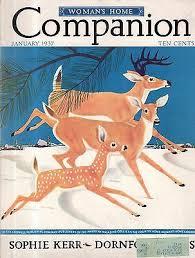 1937 Womans Home Companion January - Pearl S. Buck; Passage to Panama; Deer    eBay