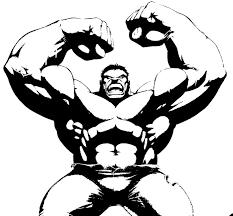 Disegno Da Colorare Hulk 11