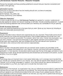 Bunch Ideas Of Resume For Life Science Best Ideas Of Cover Letter