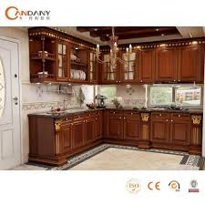 candany modern lacquer finish kitchen cabinet in white color