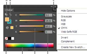 Adobe Cmyk Color Chart How Do I Display The Cmyk Color Sliders Adobe Support