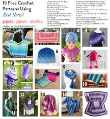Red Heart Free Patterns Delectable 48 Free Crochet Patterns Using Red Heart Super Saver Ombre The