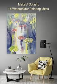 make a splash 14 watercolour painting ideas