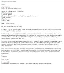 Query Letter Format Reply To Complaint Letter Template