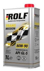 <b>Трансмиссионное масло ROLF</b> Transmission 80W-90 GL-5 ...