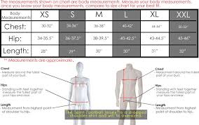 Spirit Jersey Size Chart Something Greek