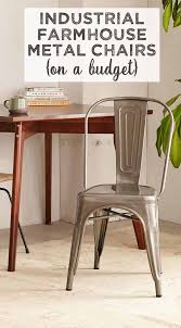 farmhouse furniture style. Love Industrial Farmhouse Style Metal Chairs? Get The Look On A Budget! Furniture M