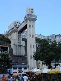 Aufzüge in aller Welt: Elevador Lacerda (Salvador da Bahia) -  Senkrechtstarter Blog