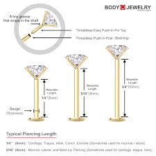 Barbell Piercing Size Chart Tongue Ring Sizes Chart Length The Best Brand Ring In Wedding