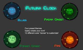 Futuristic Clock Futura Clock By Cyborspasm On Deviantart
