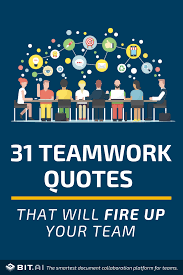 31 Teamwork Quotes That Will Fire Up Your Team Bit Blog