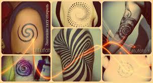 значение тату спираль смысл история и фото готовых татуировок