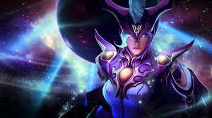 dark moon stalker dota 2 video game girls wallpaper hd 1920x1080